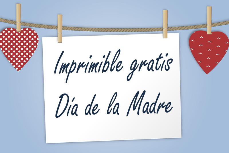 cabecera imprimible gratis día de la madre
