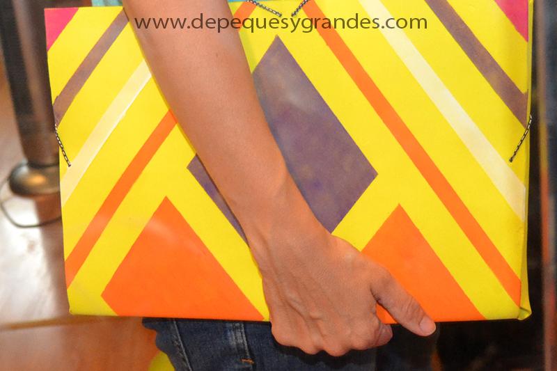 carpeta con goma eva lista para llevar