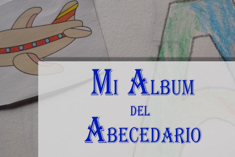 cabecera mi álbum del abecedario