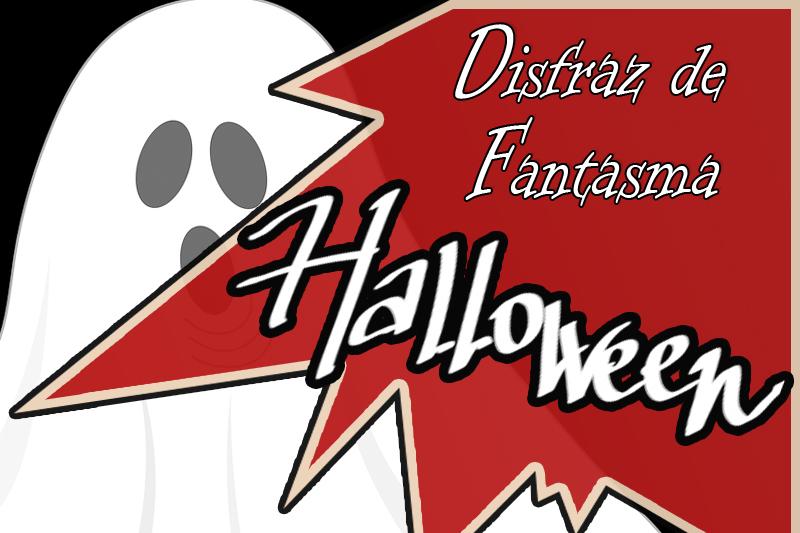portada disfraz fantasma halloween