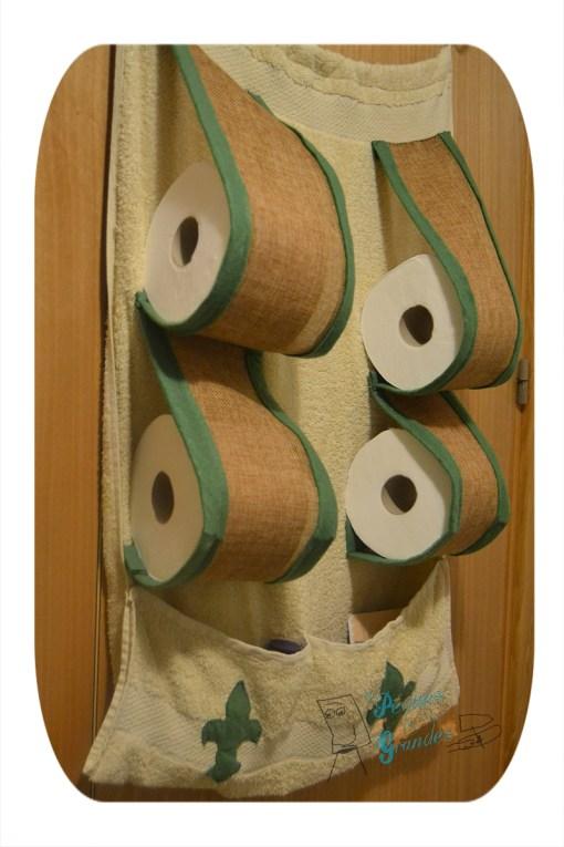imagen final de reciclar una toalla de baño