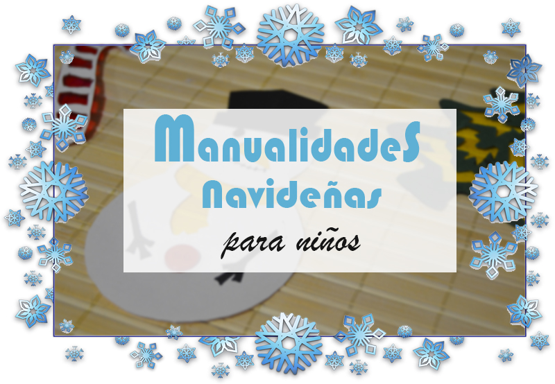 portada manualidades navideñas para niños