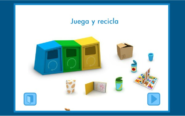 Aprender a reciclar Juego Pocoyó