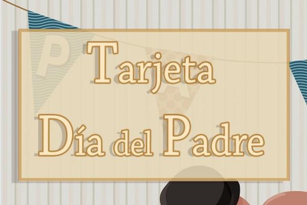 cabecera tarjeta día del padre