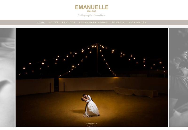 Emanuelle fotografía de boda
