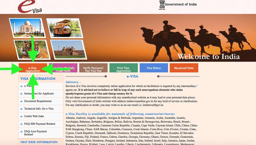 visado india viajar