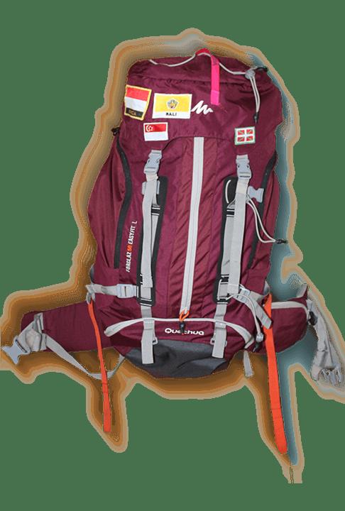 preparar mochila