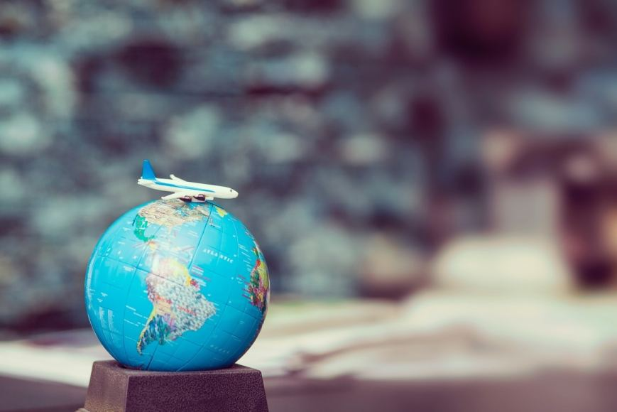 viajes recorrido etapa ruta mundo avion