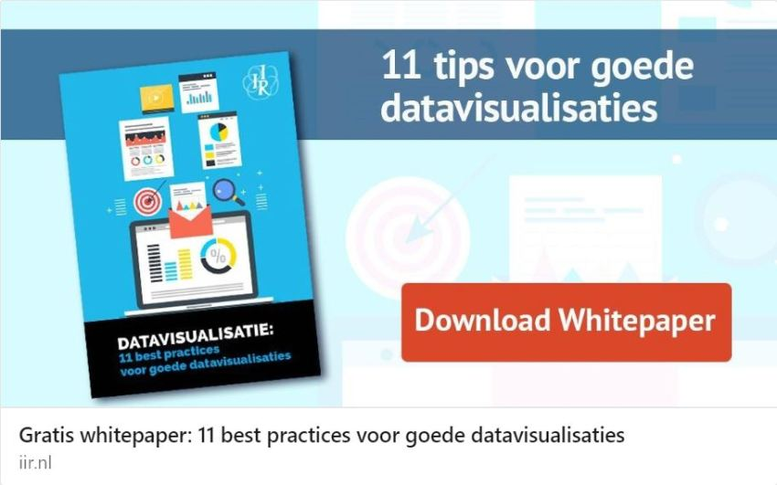 Whitepaper datavisualisatie: 11 interessante tips