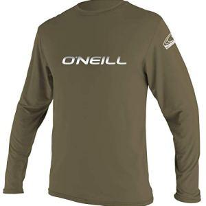 Camisa color khaki manga larga protección solar
