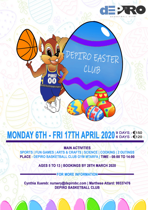 Easter Club 2020