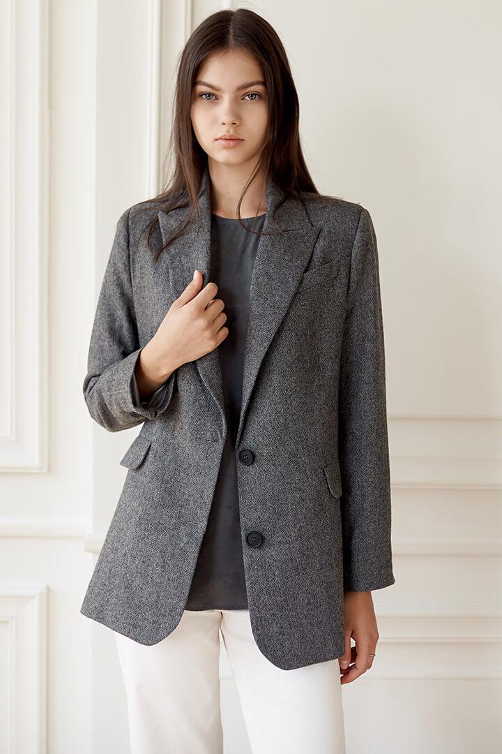Пиджак шерсть DEplace