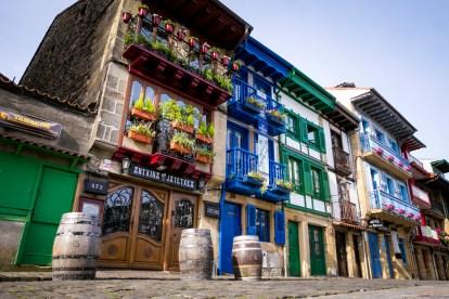 Casas en la Plaza de Armas (Hondarribia)