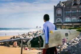 Surf en Hendaya