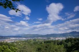 Vistas desde el Santuario de Guadalupe (Hondarribia)