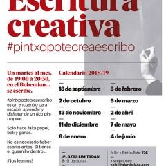 """Taller de Escritura Creativa """"Pintxo Pote Crea Escribo"""" – Itziar Sistiaga (Irun)"""