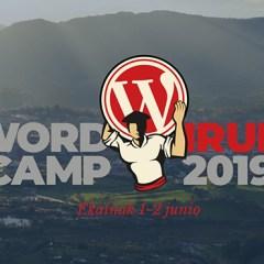 WORDCAMP IRUN 2019
