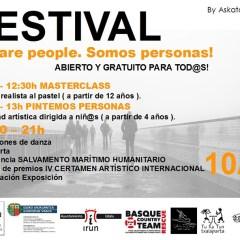"IV CERTAMEN ARTÍSTICO INTERNACIONAL ASKATASUNARTE ""SOMOS PERSONAS"" – MUSEO OIASSO (IRUN)"