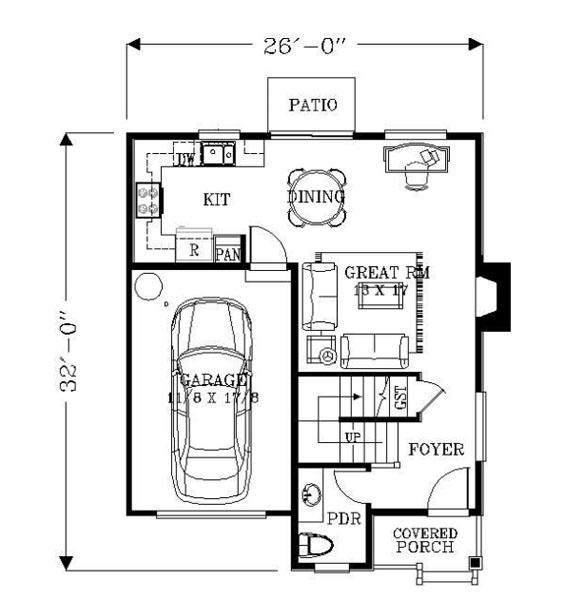 Casa de dos pisos tres habitaciones y 123 metros - Banos de 2 metros cuadrados ...