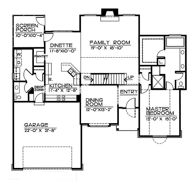 Casa de dos pisos cuatro dormitorios y 208 metros - Banos de 2 metros cuadrados ...