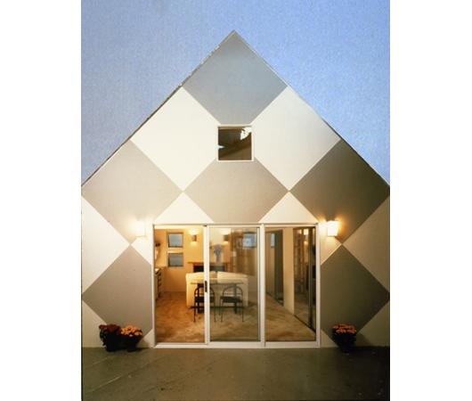 Casa moderna inhabitable