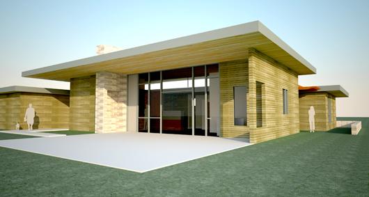 Casa moderna de 3 dormitorios y 191 metros cuadrados for Casas modernas 120 metros cuadrados