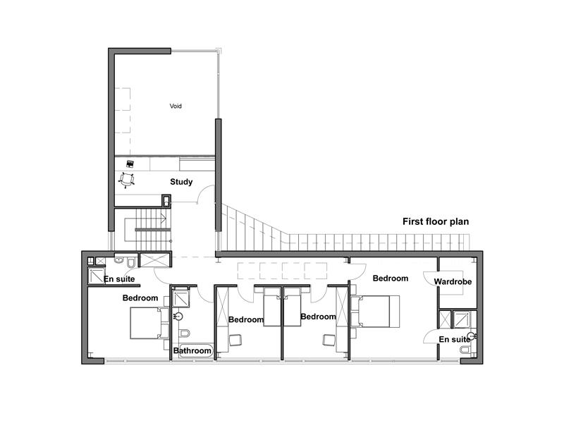 Casa moderna para esquina de 252 metros cuadrados planos for Casas modernas planta baja