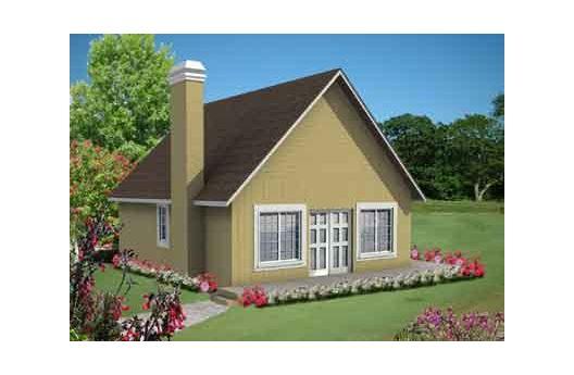 Diminuta casa de dos pisos y 84 metros cuadrados