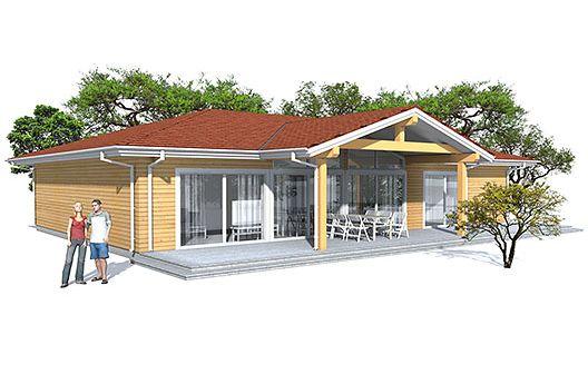 Moderna casa de tres dormitorios y 153 metros cuadrados for Casa minimalista 80 metros