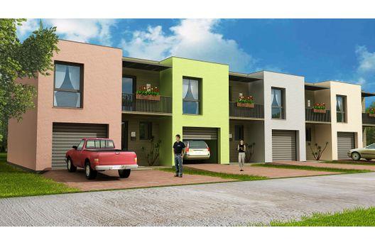 Duplex de tres dormitorios con cochera y 93 metros cuadrados