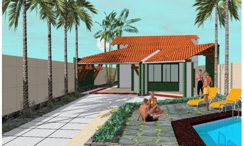Casa Con Pileta De Una Planta Tres Dormitorios Y 145