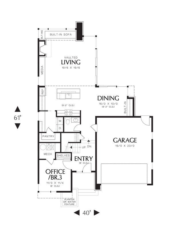 Casa llamativa de cuatro dormitorios y 196 metros for Disenos de oficinas modernas gratis