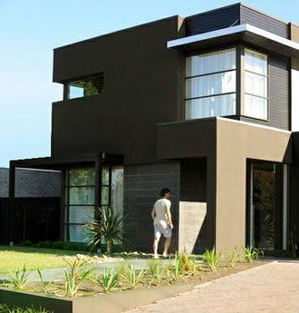 casa moderna y formal de dos pisos cuatro dormitorios y metros cuadrados planos de casas gratis deplanoscom
