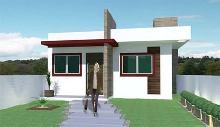planos de casas modernas pequenas de una planta