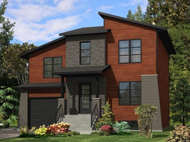 Moderna casa de dos plantas tres dormitorios y 153 metros for Casas modernas 120 metros cuadrados