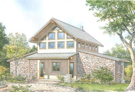 Casa de campo de piedra de dos plantas, dos dormitorios y 196 metros cuadrados