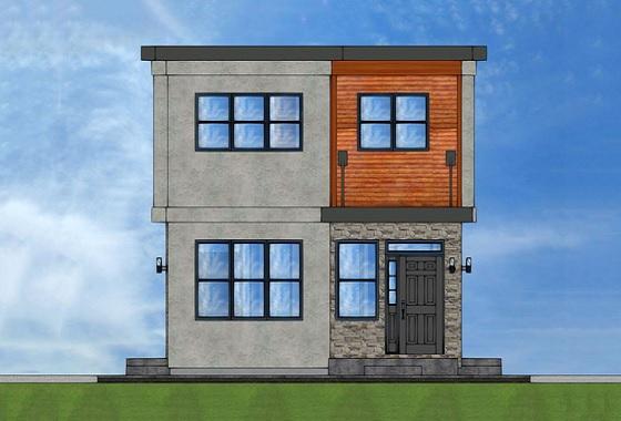 Ver planos de casas de dos plantas y tres dormitorios for Planta de casa de dos pisos