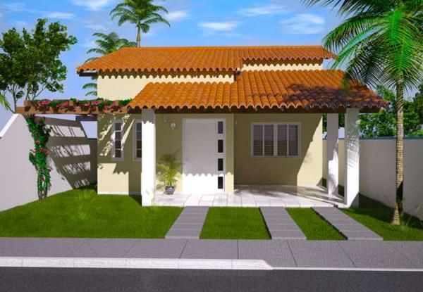 Plano de casa economica de tres dormitorios y 111 metros for Casa minimalistas de 90 metros cuadrados