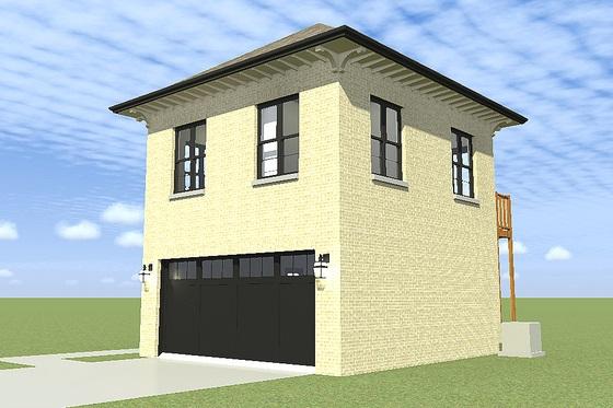 Versaltil plano de casa de dos plantas y 94 metros cuadrados