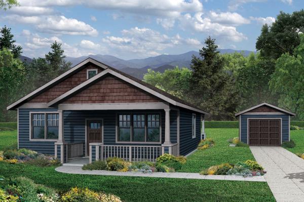 Plano de casa tradicional de una planta tres dormitorios Casas americanas de una planta