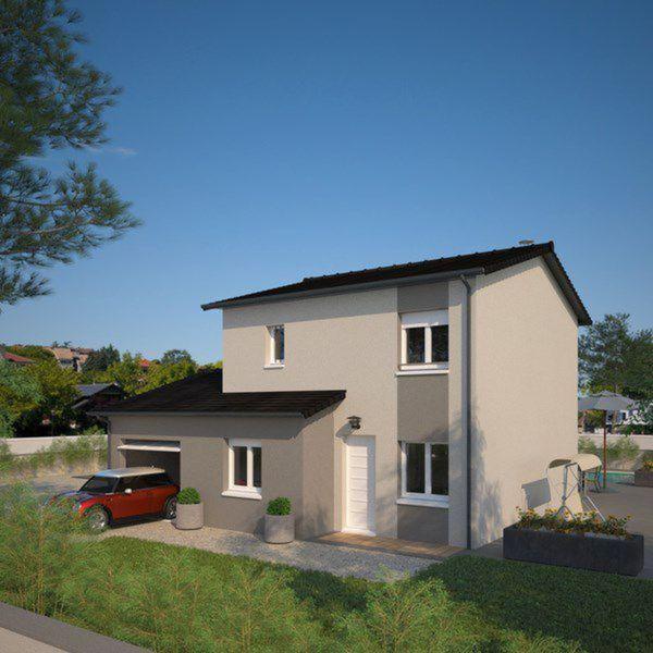 Plano de casa francesa de 4 dormitorios y 130 metros for Casa minimalista 80 metros