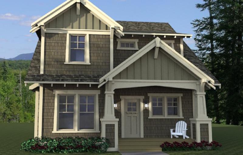 planos de casas de dos pisos estilo americano