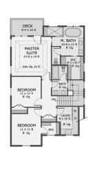 plano casa dormitorios tres planta dos americana metros plantas cuadrados alta plan planos casas gratis comedor deplanos craftsman garage houseplans