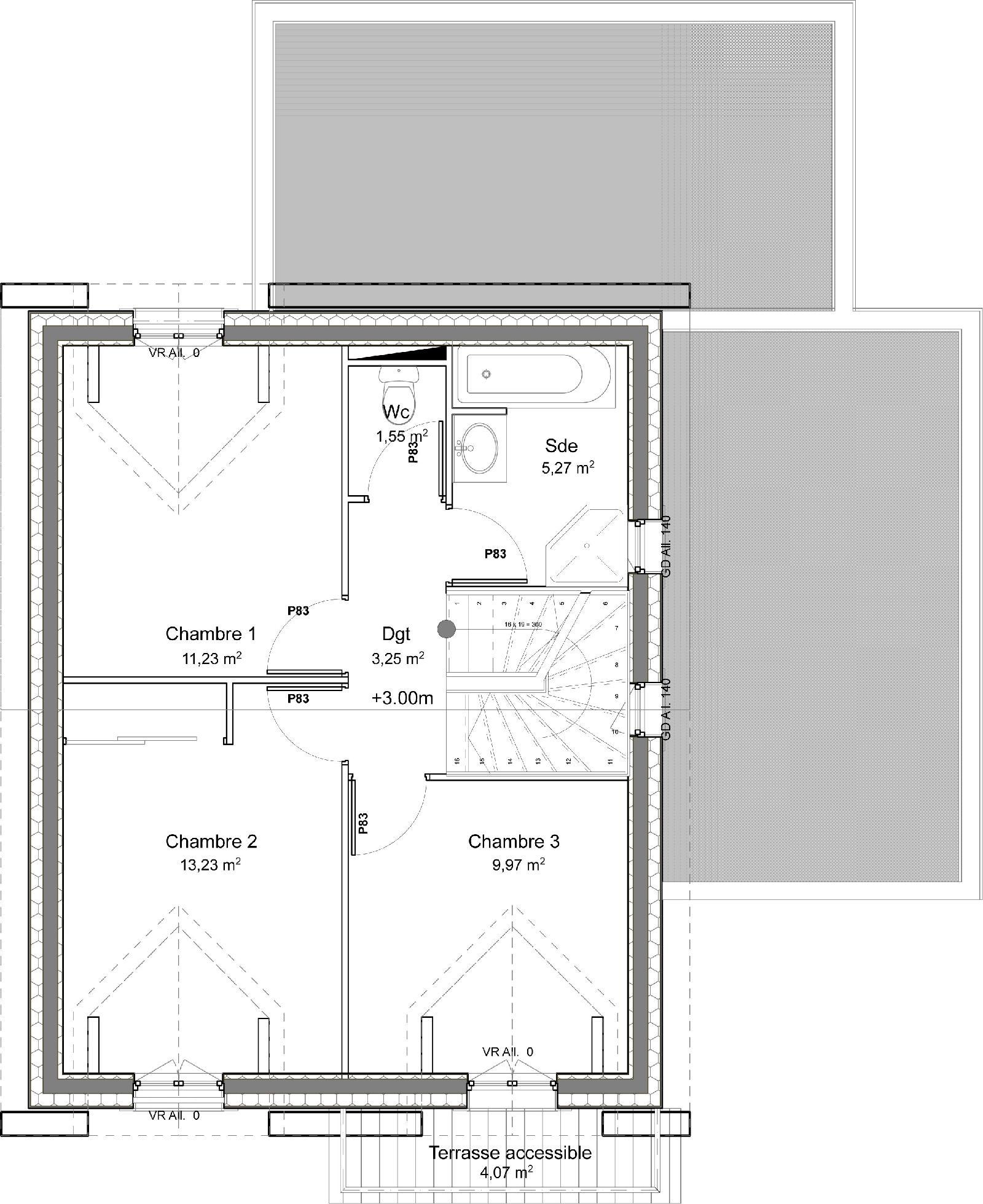Casa De Dos Plantas 4 Dormitorios Y 109 Metros Cuadrados