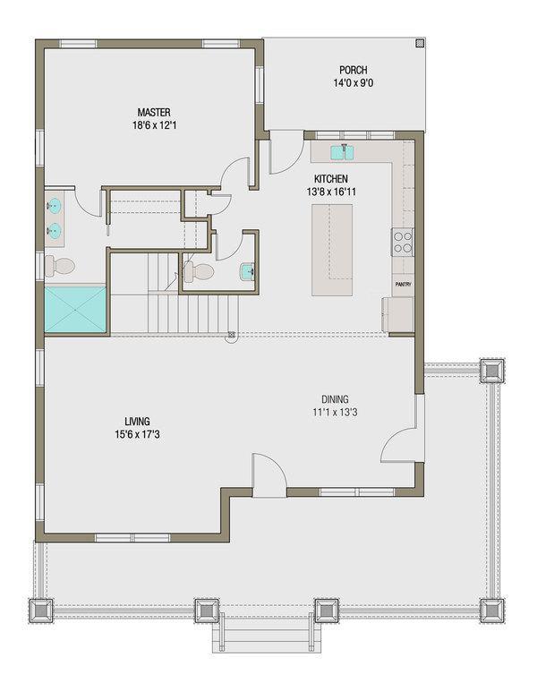 Plano de comoda casa de dos pisos cuatro dormitorios y 245 metros cuadrados planos de casas - Pasar de metros a metros cuadrados ...