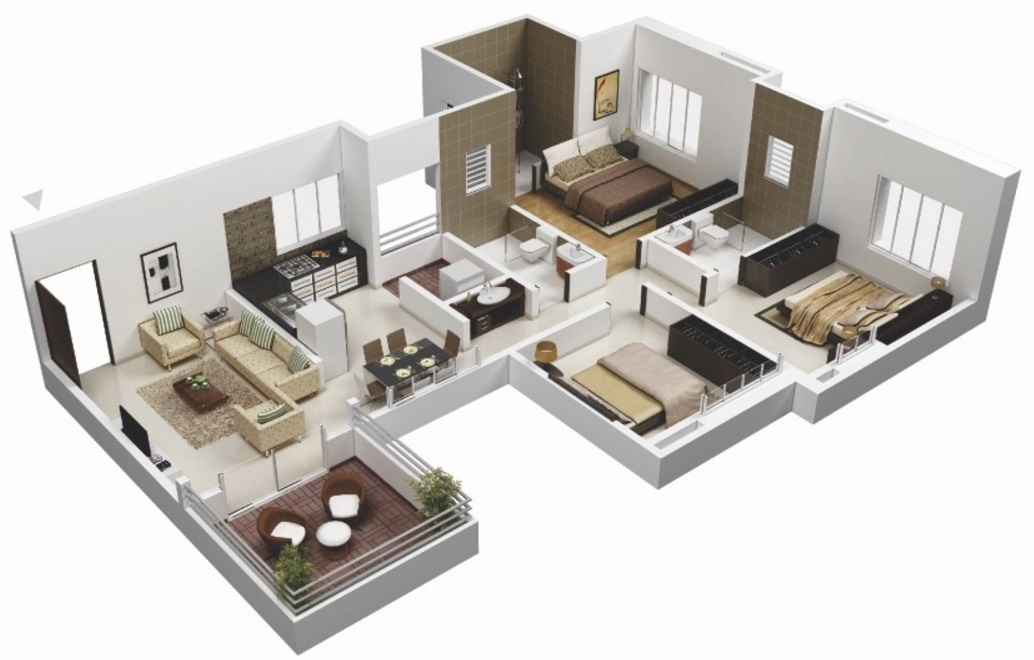 Virtual Room Layout