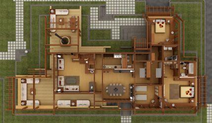 Planos Casa Madera Novocom top
