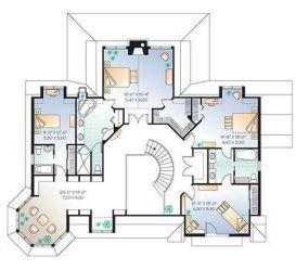 grandes casa americana dimensiones casas plano tipo