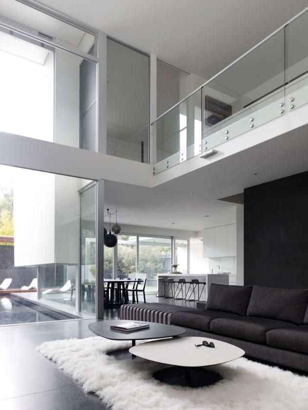 Casas con balcn interno