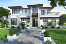 Modern Contemporary House Plan